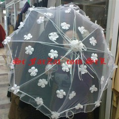 umbrela cu flori si perle (1)