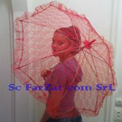 umbrela dantelata rosie cod 16 (1)