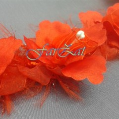Aplicatie cu flori pe elastic (1)