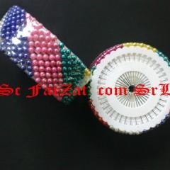 Bolduri cu perle colorate