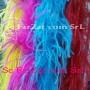 Marabu din pene de strut albastru (7)