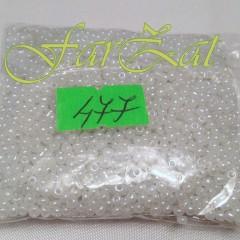 Margele nisip 2 mm albe cod 477 (1)