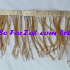 banda din pene de strut maro (1)