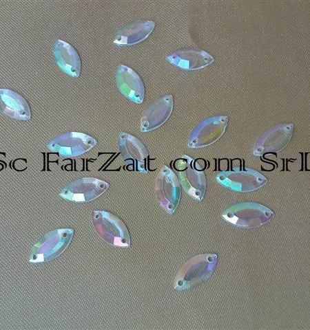 pietre de cusut transparente ovale de 12x6 mm cod 189 (1)