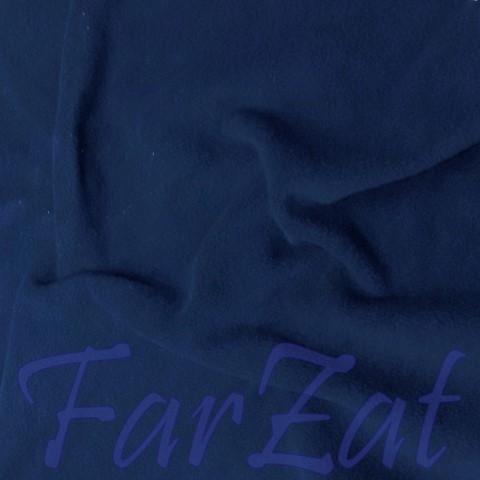 Material textil fleece / polar bleumarin